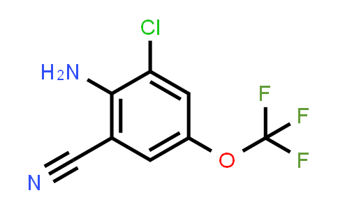 1003708-19-7 | Benzonitrile, 2-amino-3-chloro-5-(trifluoromethoxy)-