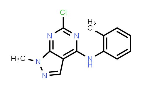 100376-17-8 | 6-Chloro-1-methyl-N-(2-methylphenyl)-1H-pyrazolo[3,4-d]pyrimidin-4-amine