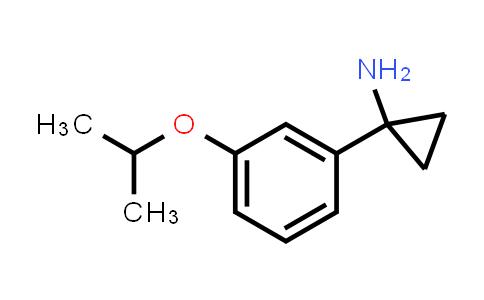 1003856-12-9 | Cyclopropanamine, 1-[3-(1-methylethoxy)phenyl]-
