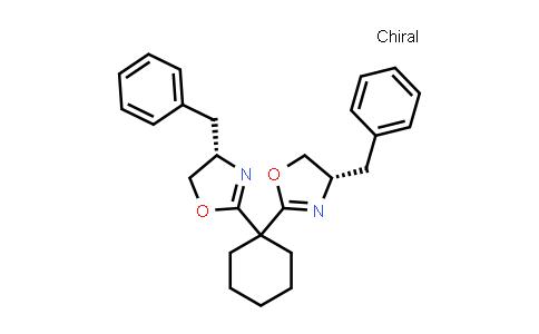 1003886-07-4 | (4S,4'S)-2,2'-Cyclohexylidenebis[4,5-dihydro-4-(phenylmethyl)oxazole]