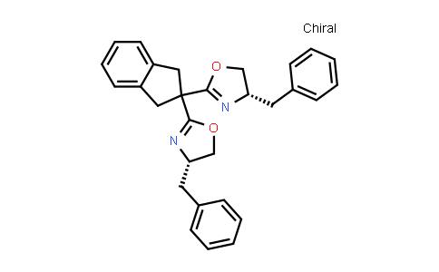 1003886-09-6   (4S,4'S)-2,2'-(1,3-Dihydro-2H-inden-2-ylidene)bis[4,5-dihydro-4-(phenylmethyl)oxazole]