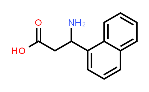 100393-41-7 | 1-Naphthalenepropanoic acid, β-amino-