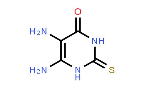 1004-76-8 | 4(1H)-Pyrimidinone, 5,6-diamino-2,3-dihydro-2-thioxo-