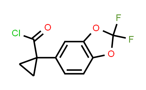1004294-65-8 | Cyclopropanecarbonyl chloride, 1-(2,2-difluoro-1,3-benzodioxol-5-yl)-