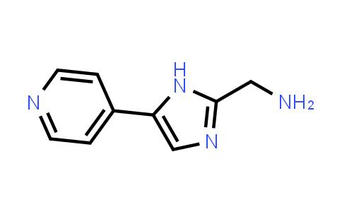 1004303-43-8 | (5-(Pyridin-4-yl)-1H-imidazol-2-yl)methanamine