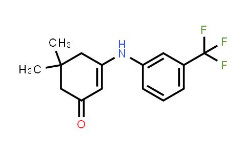 100445-52-1   2-Cyclohexen-1-one, 5,5-dimethyl-3-[[3-(trifluoromethyl)phenyl]amino]-