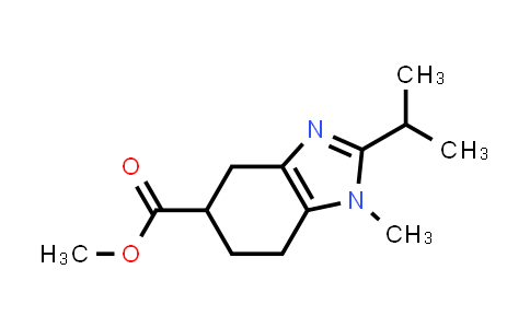 1004529-26-3 | 1H-Benzimidazole-5-carboxylic acid, 4,5,6,7-tetrahydro-1-methyl-2-(1-methylethyl)-, methyl ester