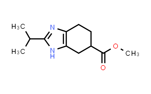 1004529-27-4 | Methyl 2-isopropyl-4,5,6,7-tetrahydro-1H-benzo[d]imidazole-6-carboxylate