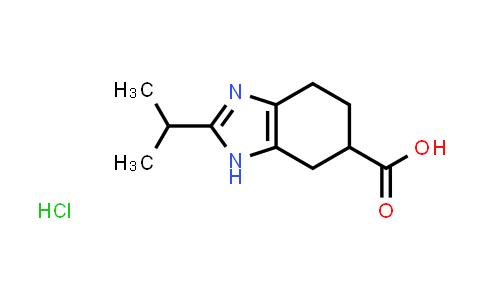 1004529-30-9 | 2-Isopropyl-4,5,6,7-tetrahydro-1H-benzo[d]imidazole-6-carboxylic acid hydrochloride