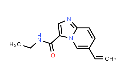 1004550-11-1 | N-Ethyl-6-vinylimidazo[1,2-a]pyridine-3-carboxamide