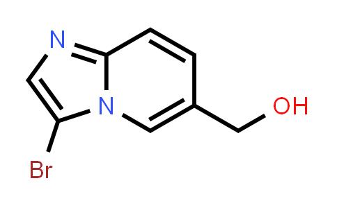 1004550-19-9 | Imidazo[1,2-a]pyridine-6-methanol, 3-bromo-