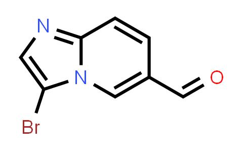 1004550-20-2 | Imidazo[1,2-a]pyridine-6-carboxaldehyde, 3-bromo-