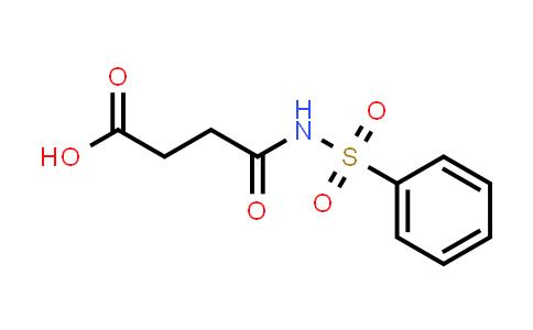 100462-43-9 | Butanoic acid, 4-oxo-4-[(phenylsulfonyl)amino]-