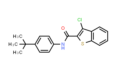 1004642-98-1 | Benzo[b]thiophene-2-carboxamide, 3-chloro-N-[4-(1,1-dimethylethyl)phenyl]-