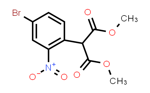 100487-81-8 | Dimethyl 4-bromo-2-nitrophenylmalonate
