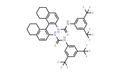 1005003-45-1 | (R)-1,1'-(5,5',6,6',7,7',8,8'-octahydro-[1,1'-binaphthalene]-2,2'-diyl)bis(3-(3,5-bis(trifluoromethyl)phenyl)thiourea)