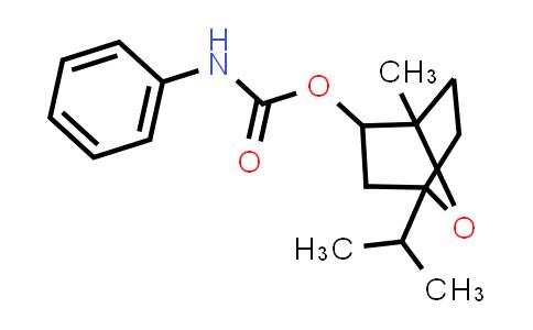 1005034-97-8   (4-Methyl-1-propan-2-yl-7-oxabicyclo[2.2.1]heptan-5-yl) N-phenylcarbamate