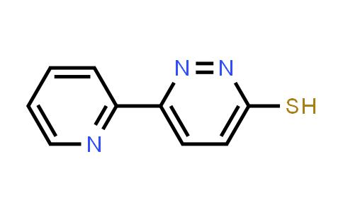 1005036-25-8 | 6-(Pyridin-2-yl)pyridazine-3-thiol