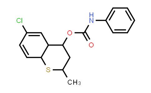 1005046-45-6 | (6-Chloro-2-methyl-3,4,4a,8a-tetrahydro-2H-thiochromen-4-yl)N-phenylcarbamate