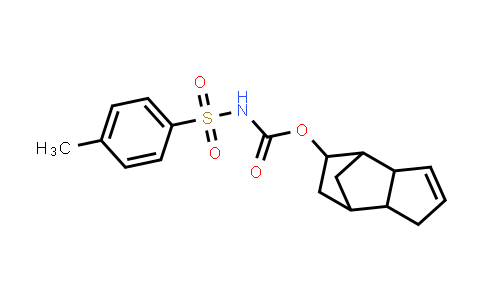 1005046-58-1 | Carbamic acid, N-[(4-methylphenyl)sulfonyl]-, 3a,4,5,6,7,7a-hexahydro-4,7-methano-1H-inden-5-yl ester