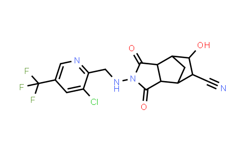 1005068-81-4 | 4,7-Methano-1H-isoindole-5-carbonitrile, 2-[[3-chloro-5-(trifluoromethyl)-2-pyridinyl]methylamino]octahydro-6-hydroxy-1,3-dioxo-