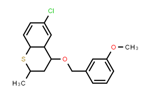1005082-26-7 | 2H-1-Benzothiopyran, 6-chloro-3,4,4a,8a-tetrahydro-4-[(3-methoxyphenyl)methoxy]-2-methyl-
