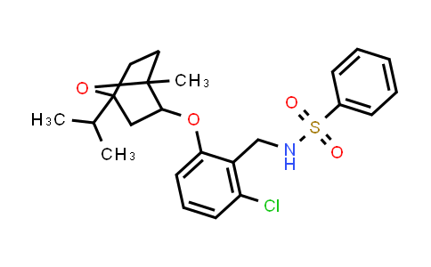 1005085-57-3 | Benzenesulfonamide, N-[[2-chloro-6-[[1-methyl-4-(1-methylethyl)-7-oxabicyclo[2.2.1]hept-2-yl]oxy]phenyl]methyl]-
