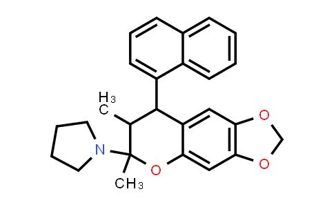 1005089-97-3 | 1H-Furo[3,4-c]pyrrole-4-carboxylic acid, 6-(4-chlorophenyl)hexahydro-1,3-dioxo-4-(phenylmethyl)-, methyl esterPyrrolidine, 1-[7,8-dihydro-6,7-dimethyl-8-(1-naphthalenyl)-6H-1,3-dioxolo[4,5-g][1]benzopyran-6-yl]-