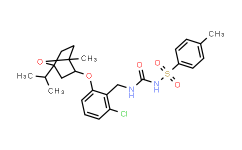 1005096-46-7 | Benzenesulfonamide, N-[[[[2-chloro-6-[[1-methyl-4-(1-methylethyl)-7-oxabicyclo[2.2.1]hept-2-yl]oxy]phenyl]methyl]amino]carbonyl]-4-methyl-