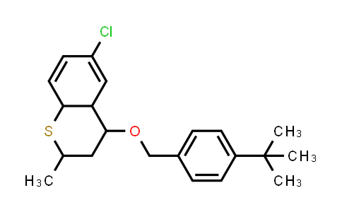 1005100-63-9 | 2H-1-Benzothiopyran, 6-chloro-4-[[4-(1,1-dimethylethyl)phenyl]methoxy]-3,4,4a,8a-tetrahydro-2-methyl-