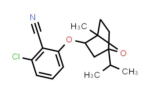 1005116-70-0 | Benzonitrile, 2-chloro-6-[[1-methyl-4-(1-methylethyl)-7-oxabicyclo[2.2.1]hept-2-yl]oxy]-