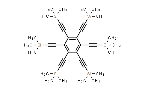 100516-62-9 | 1,2,3,4,5,6-Hexakis((trimethylsilyl)ethynyl)benzene