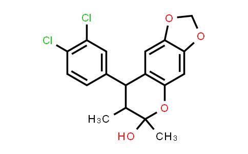 1005188-49-7 | 6H-1,3-Dioxolo[4,5-g][1]benzopyran-6-ol, 8-(3,4-dichlorophenyl)-7,8-dihydro-6,7-dimethyl-
