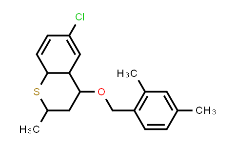 1005188-62-4 | 2H-1-Benzothiopyran, 6-chloro-4-[(2,4-dimethylphenyl)methoxy]-3,4,4a,8a-tetrahydro-2-methyl-