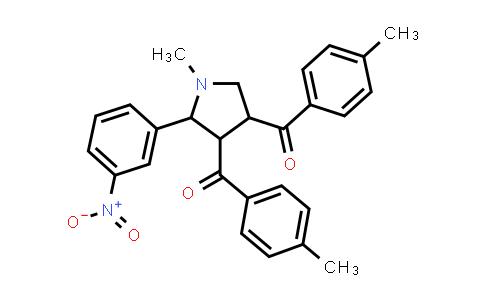 1005188-92-0 | Methanone, 1,1'-[1-methyl-5-(3-nitrophenyl)-3,4-pyrrolidinediyl]bis[1-(4-methylphenyl)-