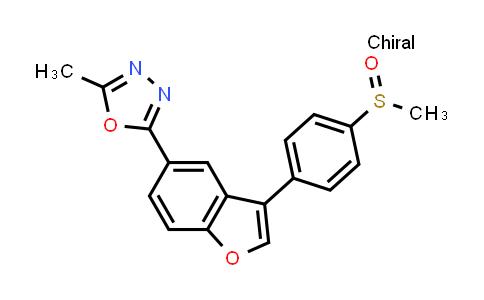 1005203-15-5 | (S)-2-Methyl-5-[3-[4-(methylsulfinyl)phenyl]benzofuran-5-yl]-1,3,4-oxadiazole