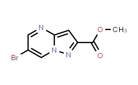 1005209-40-4 | Methyl 6-bromopyrazolo[1,5-a]pyrimidine-2-carboxylate