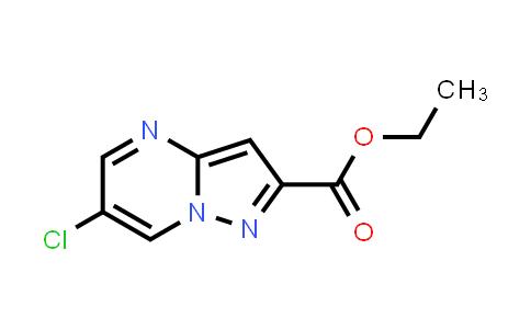 1005209-44-8 | Ethyl 6-chloropyrazolo[1,5-a]pyrimidine-2-carboxylate