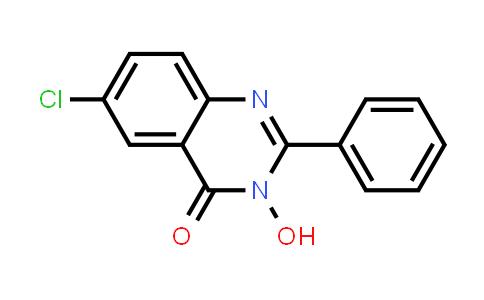 100527-73-9 | 4(3H)-Quinazolinone, 6-chloro-3-hydroxy-2-phenyl-