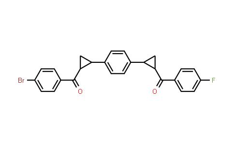 1005270-52-9 | (2-{4-[2-(4-Bromobenzoyl)cyclopropyl]phenyl}cyclopropyl)(4-fluorophenyl)methanone