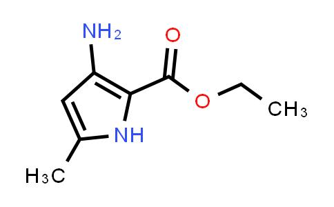 1005326-26-0 | 1H-Pyrrole-2-carboxylic acid, 3-amino-5-methyl-, ethyl ester