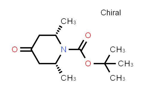1005397-64-7 | cis-tert-Butyl 2,6-dimethyl-4-oxopiperidine-1-carboxylate