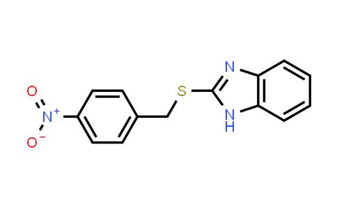 100541-50-2 | 2-[(4-Nitrobenzyl)thio]-1H-benzimidazole