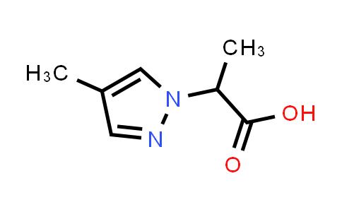 1005582-20-6 | 2-(4-Methyl-1H-pyrazol-1-yl)propanoic acid