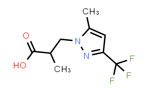 1005629-50-4 | 1H-Pyrazole-1-propanoic acid, α,5-dimethyl-3-(trifluoromethyl)-