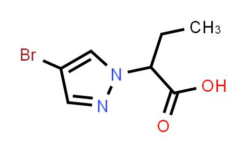 1005697-69-7   1H-Pyrazole-1-acetic acid, 4-bromo-α-ethyl-