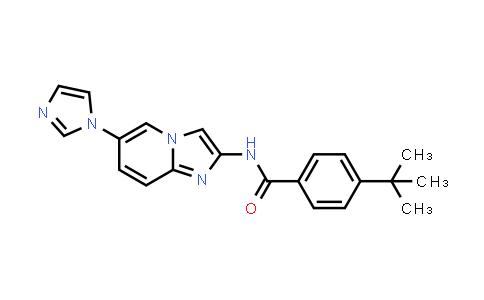 1005775-55-2 | N-(6-(1H-Imidazol-1-yl)imidazo[1,2-a]pyridin-2-yl)-4-(tert-butyl)benzamide