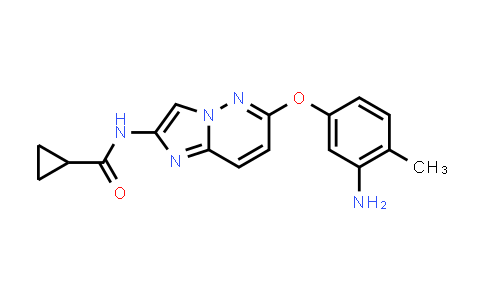 1005780-53-9 | Cyclopropanecarboxamide, N-[6-(3-amino-4-methylphenoxy)imidazo[1,2-b]pyridazin-2-yl]-