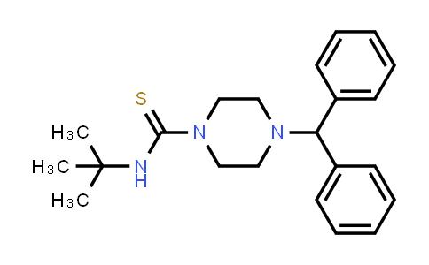 1005889-23-5 | 1-Piperazinecarbothioamide, N-(1,1-dimethylethyl)-4-(diphenylmethyl)-