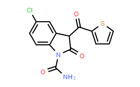 100599-27-7 | 5-Chloro-3-(2-thenoyl)-2-oxindole-1-carboxamide